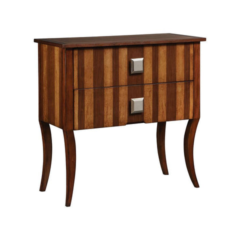 Stein World Newton Chest in Walnut & Mahogany
