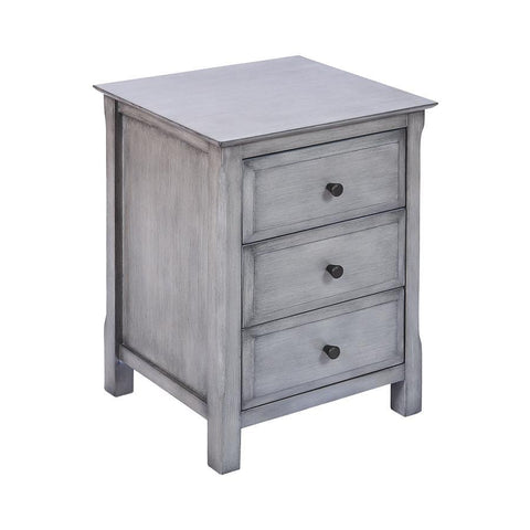 Stein World Pierpont Accent Table in Gray