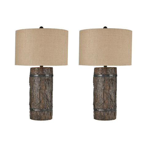 Stein World Seven Bridges Table Lamp (Set of 2)