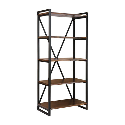 Stein World South Loop Dark Brown w/Black Bookshelf