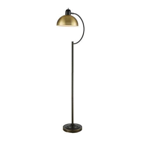 Stein World Talbert Oil Rubbed Bronze And Antique Brass Floor Lamp
