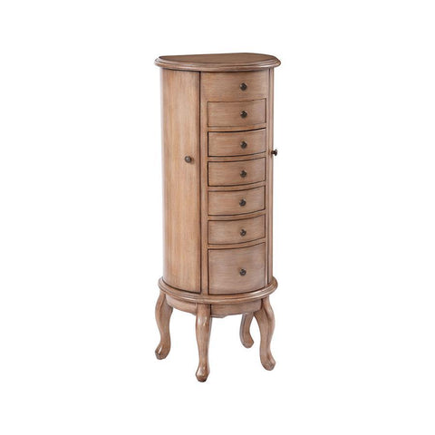 Stein World Taylor Jewelry Armoire in Hand-Painted & Walnut