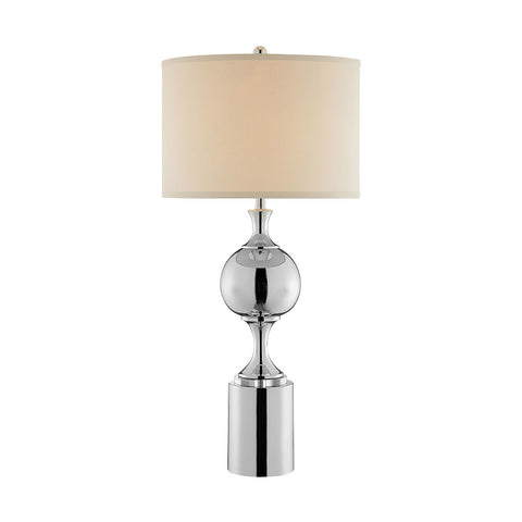 Stein World Zelena Table Lamp in Chrome
