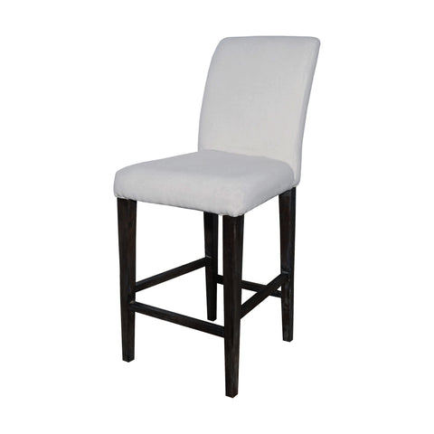 Sterling Couture Covers Parsons Bar Stool In Heritage Stain With White Wash