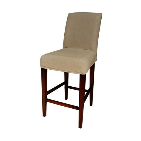 Sterling Couture Covers Parsons Barstool Cover - Light Cream