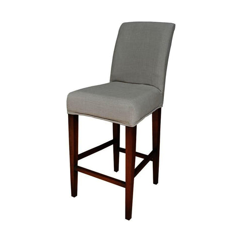 Sterling Couture Covers Parsons Barstool Cover - Light Grey