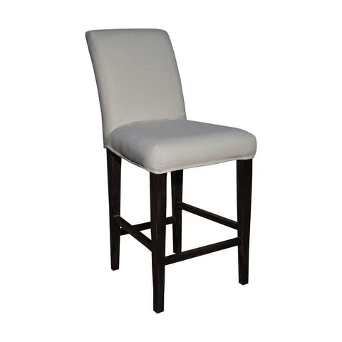 Sterling Couture Covers Parsons Barstool Cover - Pure White