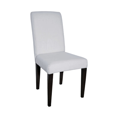 Sterling Couture Covers Parsons Chair In Heritage Stain With White Wash