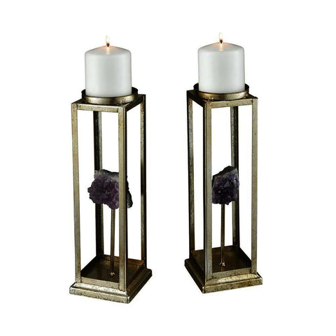 Sterling Ekaterina Candle Holders