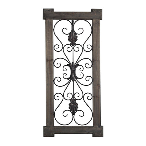 Sterling Industries 137-014 Hatfield-Rectangular Scroll Work Wall Panel