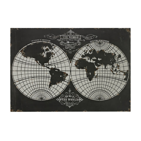 Sterling Industries 51-10118 World Map-Laser Cut Map Of The Globe