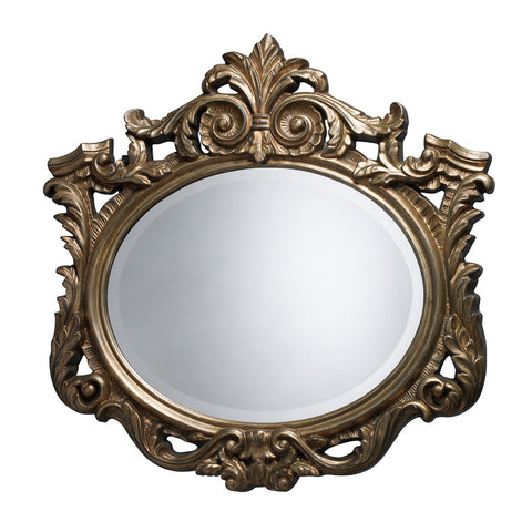 Sterling Industries DM1936 Raines Mirror In Antique Gold Leaf