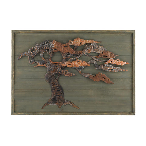 Sterling Industries Wood & Metal Tree Wall Art