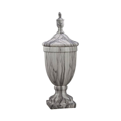 Sterling Neuchatel Faux Marble Ceramic urn