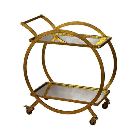 Sterling Ring Bar Cart