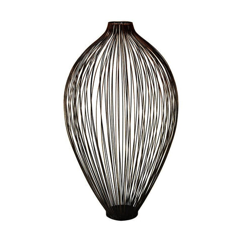 Sterling Thrum 23-Inch Vase In Copper Ombre