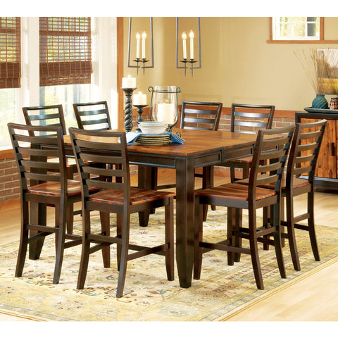 Steve Silver Abaco 9 Piece Counter Height Set w/ Leaf