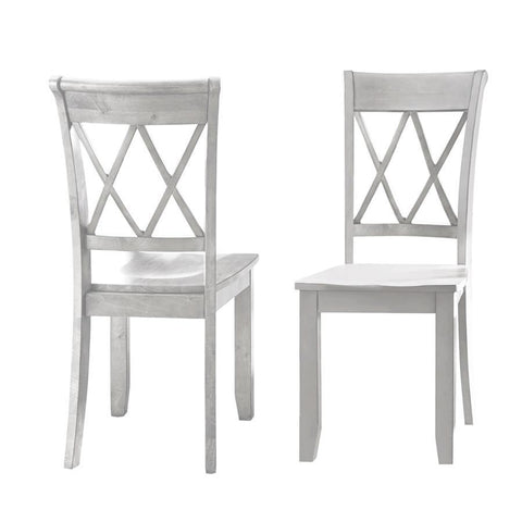 Steve Silver Aida Side Chair in Vanilla