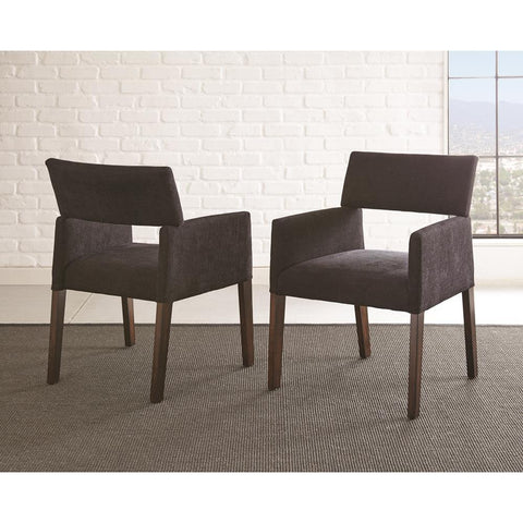 Steve Silver Amalie Side Chair in Black