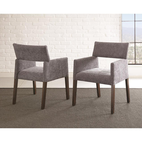 Steve Silver Amalie Side Chair in Grey
