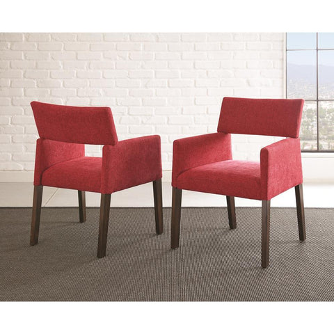 Steve Silver Amalie Side Chair in Red