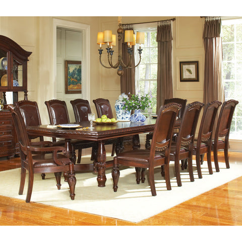 Steve Silver Antoinette 11 Piece Dining Room Set w/ Leaf