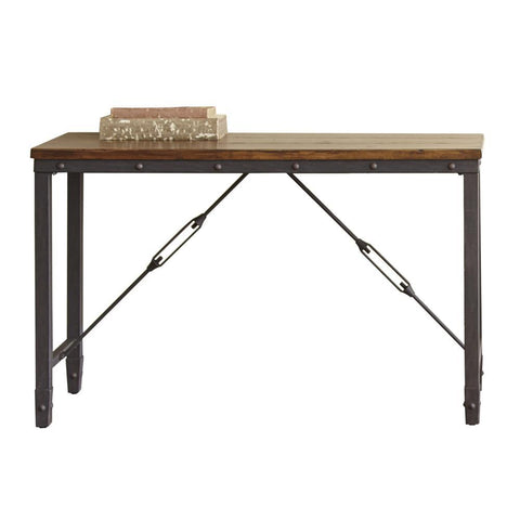 Steve Silver Ashford Rectangular Sofa Table in Antiqued Honey