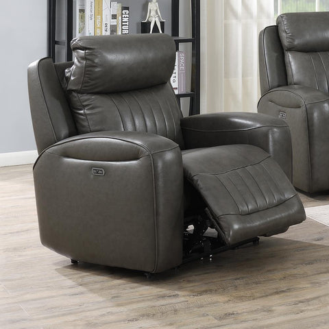 Steve Silver Avila Power Recliner Chair - Slate