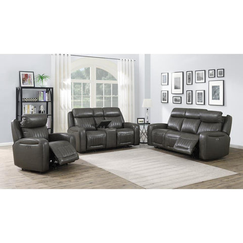 Steve Silver Avila Sofa, Loveseat, and Chair Set - Slate