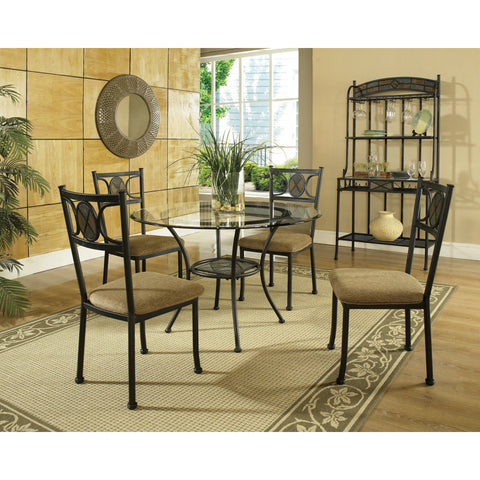 Steve Silver Carolyn 5 Piece Dining Room Set