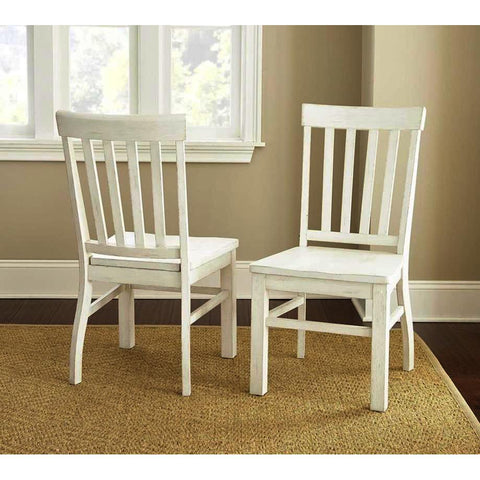 Steve Silver Cayla Side Chair in Antique White