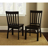 Steve Silver Cayla Side Chair in Dark Oak