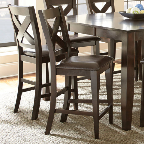 Admirable Steve Silver Crosspointe 9 Piece Counter Height Table Set In Home Remodeling Inspirations Genioncuboardxyz