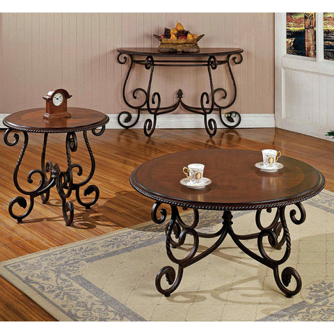 Steve Silver Crowley 3 Piece Occasional Table Set