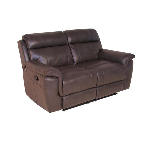 Steve Silver Dakota Recliner Loveseat in Cafe Noir