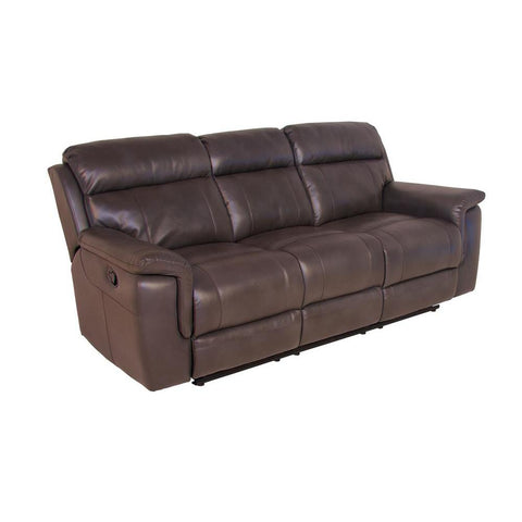 Steve Silver Dakota 3 Piece Reclining Living Room Set in Cafe Noir