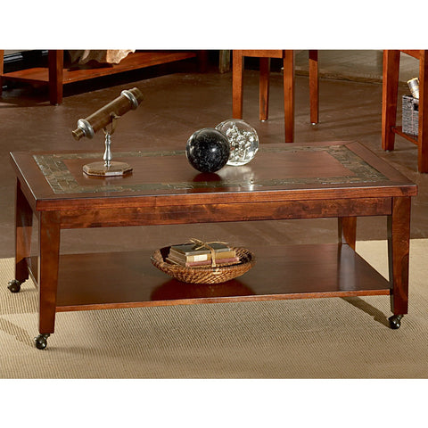 Steve Silver Davenport Slate Cocktail Table