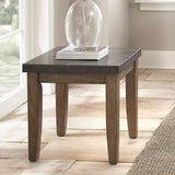 Steve Silver Debby 3 Piece Bluestone Coffee Table Set in Driftwood