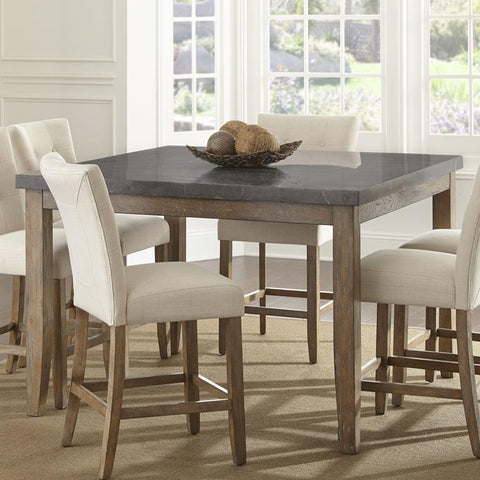 Steve Silver Debby 54 Inch Bluestone Counter Height Table