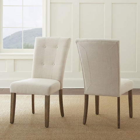 Steve Silver Debby Side Chair in Beige