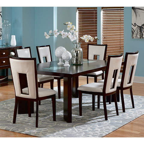 Steve Silver Delano 7 Piece Dining Room Set w/ Leaf