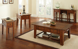 Steve Silver Desoto Sofa Table in Dark Oak