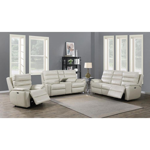 Steve Silver Duval Sofa, Loveseat, Chair Set - Ivory
