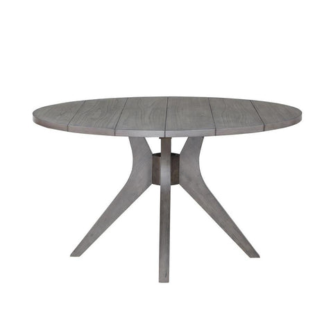 Steve Silver Elora Round Dining Table In Grey