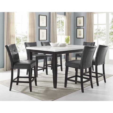 Steve Silver Francis 7 Piece Square Counter Height Set