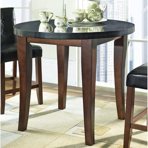 Steve Silver Granite Bello Granite Top Counter Height Table in Brown