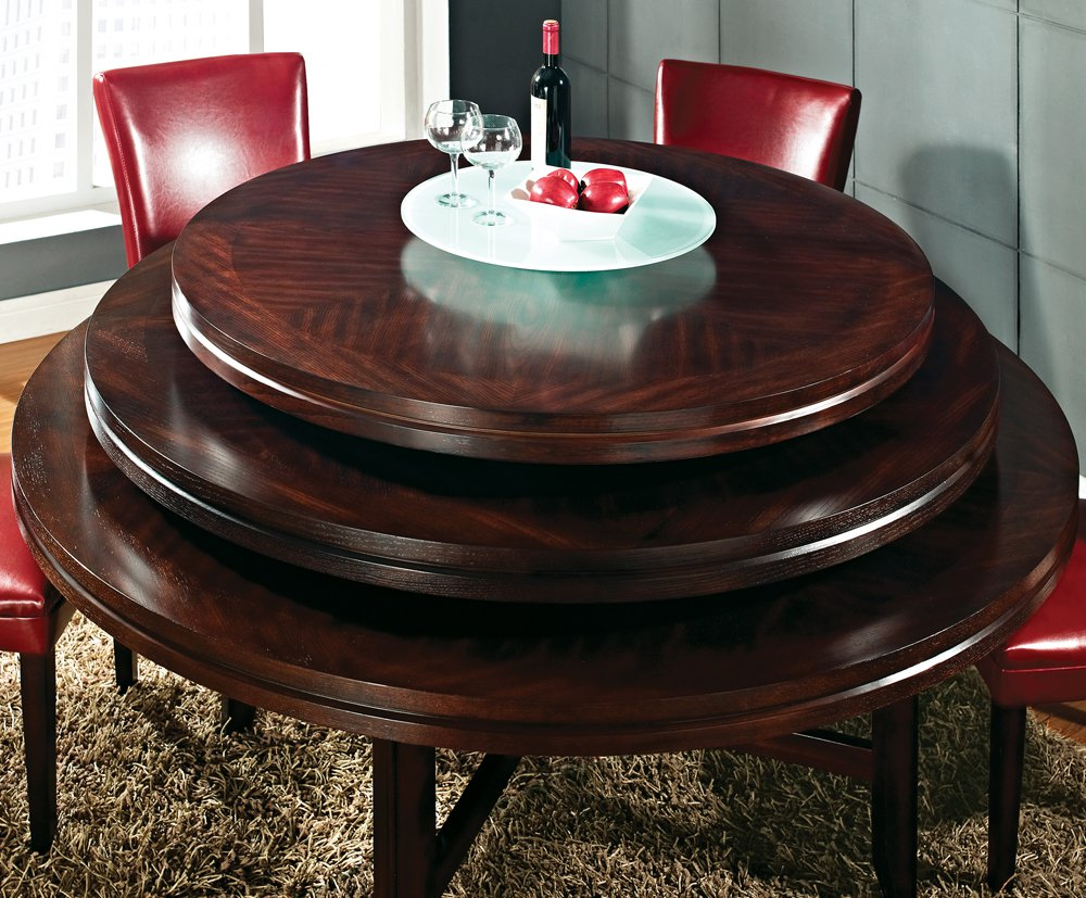 Round Dining Table 52 Inch: Steve Silver Hartford 52 Inch Round Dining Table In Dark