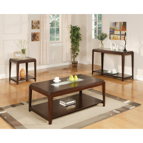 Steve Silver Ice 3 Piece Occasional Table Set