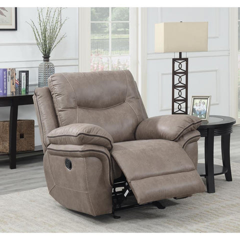 Steve Silver Isabella Recliner Chair Sand
