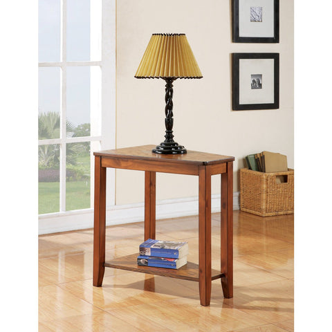 Steve Silver Joel Oak Chairside End Table